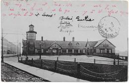 United Kingdom - Northern Ireland - Portrush - Railway Station - To Canada 1904 - Zonder Classificatie