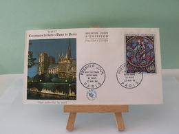 Notre Dame De Paris - Paris - 23.5.1964 FDC 1er Jour - Coté 9€ - FDC