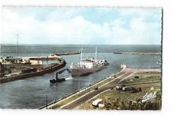 76 Dieppe Entrée Dans Le Port Du Betancuria Bateau Cargo Remorqueur CPSM PF Edit Estel N°5175 Photo - Dieppe