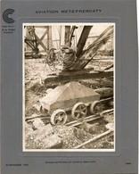 AVIATION METZ-FRESCATY ( Embase Des Pylones Sur Chariot En Béton Armé ), 25 Novembre 1929 - Aviazione