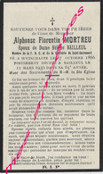 En 1930 Wytschaete Et Bailleul  (59) Alphonse MORTREU Ep Hélène BAILLEUL Membre FNC Et Confrérie - Décès