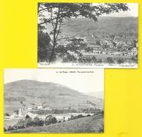 FRAIZE 2 Cpa De Vues Générales (Cuny) Vosges (88) - Fraize