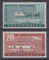 Frz. Zone Württemberg MiNr. 49-50 ** - French Zone