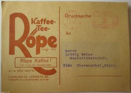 Werbung, Reklame, Kaffee Tee Röpe, 1930  - Werbepostkarten