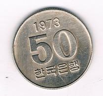 50 WON 1973 ZUID KOREA /5506/ - Corée Du Sud