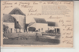 45  - PITHIVIERS -  FERME De  JAVEREY...1904 - Pithiviers