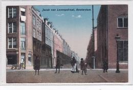 Amsterdam Jacob Van Lennepstraar Levendig     2043 - Amsterdam