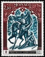 Timbre-poste Gommé Neuf** - 20e Anniversaire De La Croix-Rouge Monégasque - N° 742 (Yvert) - Principauté De Monaco 1968 - Monaco