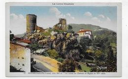 ROCHETAILLEE - N° 12 - LES RUINES DU CHATEAU ET L' EGLISE DU XVe SIECLE - CPA COULEUR NON VOYAGEE - Rochetaillee
