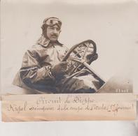 1912 CIRCUIT DE DIEPPE RIGAL  +-18*13CM Maurice-Louis BRANGER PARÍS  (1874-1950) - Coches