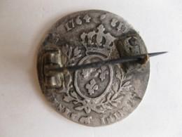 1/10 Ecu De Béarn Au Bandeau 1764 Pau, Louis XV, Montée En Broche, En Argent. - 987-1789 Royal