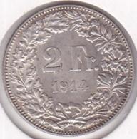 Suisse. 2 Francs 1914 B. En Argent - Suisse