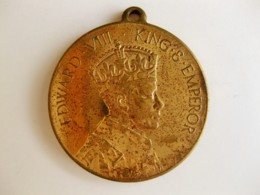 Medaille Edward VIII To Commemorate The Coronation 1937 - Royal/Of Nobility