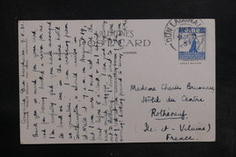 IRLANDE - Affranchissement De Dun Laoghaire Sur Carte Postale Pour La France En 1931 - L 35798 - Briefe U. Dokumente