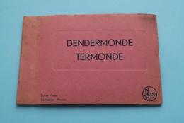DENDERMONDE - TERMONDE ( CARNET 10 Foto's 700>709 ) Edit Thill / Nels > Anno 19?? ( Zie/voir Photo ) 13 X 8,5 Cm. ! - Dendermonde
