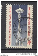 USA, Seattle World's Fair, Space Needle, Monument, Train - Universal Expositions