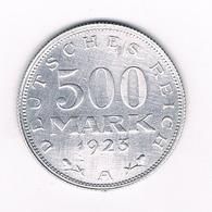 500 MARK 1923 A   DUITSLAND /5520/ - [ 3] 1918-1933 : Weimar Republic