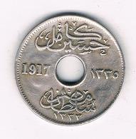 5 MILLIEMES  1917 EGYPTE /'5524/ - Egypte