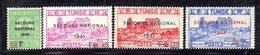 APR1911 - TUNISIA 1941, Serie Yvert N. 227/230  ***  MNH (2380A) SOCCORSO - Nuovi