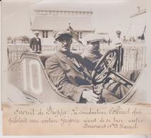 CIRCUIT DE DIEPPE CONDUCTEUR COFFINET GRÉGOIRE GRAND PRIX LE HAMEL  +-18*13CM Maurice-Louis BRANGER PARÍS  (1874-1950) - Coches