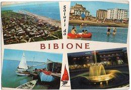 Saluti Da BIBIONE - Dall'aereo - Lido - In Laguna - Notturno - Fontana Luminosa - Vedute - Non Classificati