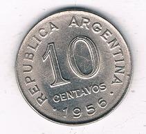 10 CENTAVOS  1956 ARGENTINIE /5529/ - Argentine