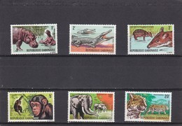 Gabon Nº 202 Al 207 - Gabón (1960-...)