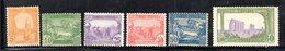 APR1914 - TUNISIA 1921,  Yvert N. 70/75  */*  (2380A) - Tunisia (1888-1955)