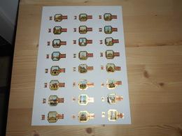 Sigarenbanden Vieill Anvers Serie Oud Antwerpen Reeks II 24 Stuks - Cigar Bands