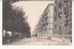 Suisse - GE - Genève - Quai Des Eaux Vives - GE Geneva