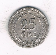 25 ORE  1921  ZWEDEN /5533/ - Suède