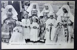 CPA 29 BRIGNOGAN Et PLOUNEOUR TREZ- Costumes De Fête - ND 362 - Ref. N 162 - Brignogan-Plage