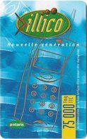 Madagascar - Illico - Antaris Blue Phone - GSM Refill 75.000Ar, Used - Madagaskar