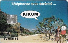 Madagascar - Telecom Malagasy - Kikom, Landscape - 50Units, 100.000ex, Used - Madagaskar