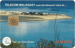 Madagascar - Telecom Malagasy - Vue Sur Sarodrano - 25Units, Chip Solaic, 1.400.000ex, Used - Madagascar