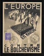 France 1942 - LVF - Légion Des Volontaires Français Contre Le Bolchevisme 29/05/1942 TTB - Poststempel (Briefe)