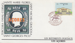 Enveloppe  FDC  1er  Jour   ACORES   PORTUGAL    EUROPA    1990 - Europa-CEPT
