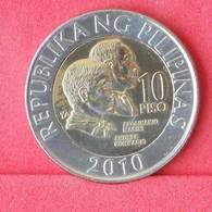 PHILIPPINES 10 PISO 2010 -    KM# 278 - (Nº29966) - Philippinen