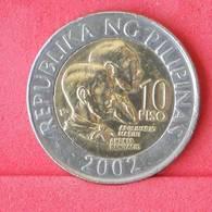 PHILIPPINES 10 PISO 2002 -    KM# 278 - (Nº29971) - Philippinen