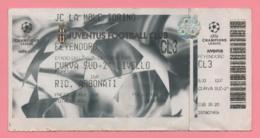Biglietto D'ingresso Stadio Juventus Feyenoord - Eintrittskarten
