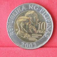 PHILIPPINES 10 PISO 2003 -    KM# 278 - (Nº29972) - Philippinen