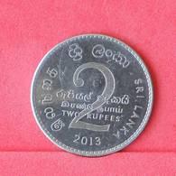 SRI LANKA 2 RUPEES 2013 -    KM# 147a - (Nº29978) - Sri Lanka