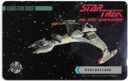 UK (Mercury) - Star Trek - Klingon Attack Cruiser - 20MERA - MER660 - 4.000ex, Used - Reino Unido