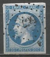 FRANCE - Oblitération Petits Chiffres LP 567 BUSIGNY (Nord) - Marcophilie (Timbres Détachés)