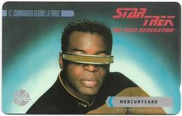 UK (Mercury) - Star Trek - Lt Commander La Forge - 20MERA - MER617 - 5.000ex, Used - Reino Unido