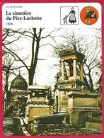 Le Cimetière Du Père Lachaise. Le Père Lachaise Confesseur De Louis XIV. Napoléon Bonaparte. Célébrités. Paris. - History