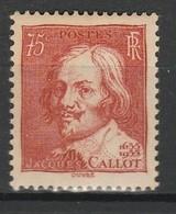 FRANCE 1935 YT N° 306 ** - Unused Stamps