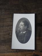 Aalst Hofstade Doodsprentje Karel Vandersloten Foto Brouwer Musicus Notaris 1930 - Religion & Esotericism