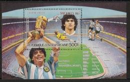 Centrafricaine - 1986 - Bloc Feuillet BF N°Yv. 86 - Football World Cup Mexico 86 - Neuf Luxe ** / MNH / Postfrisch - Zentralafrik. Republik