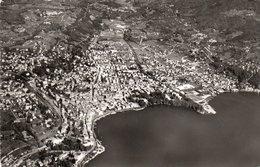 FOTOCARTOLINA-LUGANO PANORAMA-VIAGGIATA 1954 - TI Tessin
